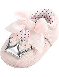 LUCKYCAT Sandales d été Bébé, Amazon Chaussures de bébé Filles Garçon  Chaussures à Semelle a4616fac5f7d