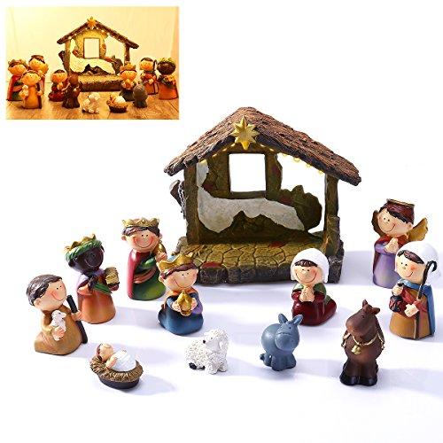 Weihnachtskrippe Für Kinder.Weihnachtskrippe Für Kinder Aus Holz