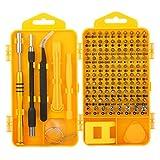 M.Way Herramientas Destornilladores 108 en 1 Combinación Multifunción Herramientas de Reparación Kit de Profesionales , Presición de Apertura Portátil