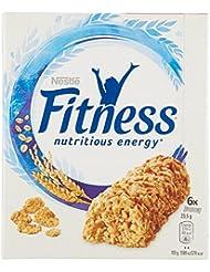 Fitness Barretta Naturale Cereali con Frumento Integrale - 6 Pezzi