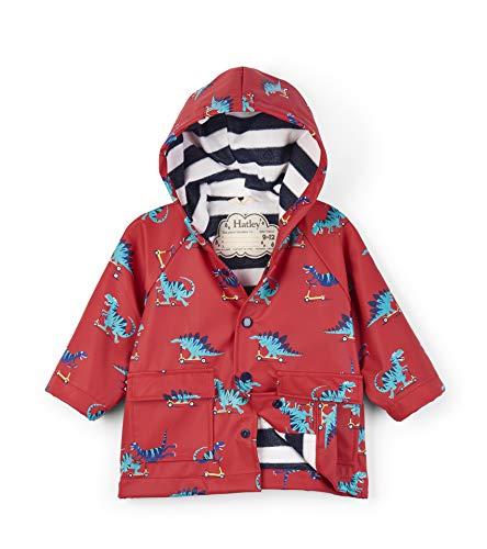 Hatley Printed Raincoats Manteau imperméable, (Scooting Dinos), (Taille Fabricant: 18-24 Mois) Bébé garçon