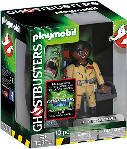 Playmobil- Ghostbusters Figura Coleccionable W. Zeddemore
