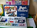 Image for board game AGRI-HAZARD. Agri Hazard Ford Tractor Farming Board Game 1973