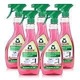 Frosch - Detergente anticalcare per aceto alla lampone, 500 ml, 5 pezzi