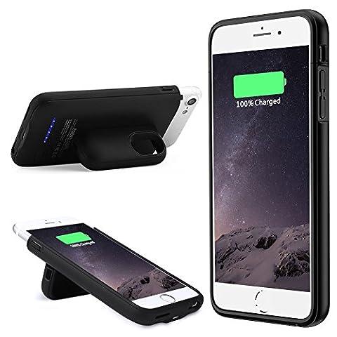 Muze Coque batterie fine et magnétique pour iPhone 6, iPhone