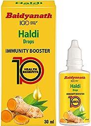 Baidyanath Haldi Drops - Natural Immunity Booster - 30 ml