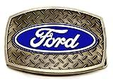 Ford Boucle de Ceinture - Diamant Bande de Roulement Plaque Conception - Licence Officielle Produit Spec Cast Collectible