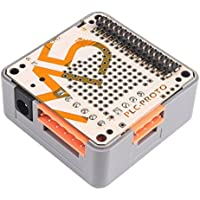 MakerHawk M5stack ESP32 Kit PLC Prototipo Industrial Board Module RS485 ACS712-5B Regulador programable Logic Controller Imán DIN-Rail Apilable IOT para Arduino DIY
