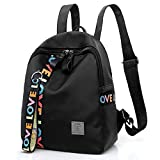 Damen Schultasche, TWBB PU weiche Haut Schüler Rucksack Outdoor Trekking Tasche Schultasche Reißverschluss School Bag