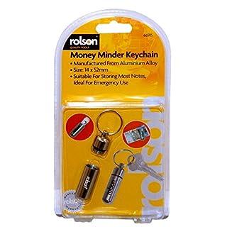 Rolson 66915 Schlüsselanhänger mit Geldkapsel