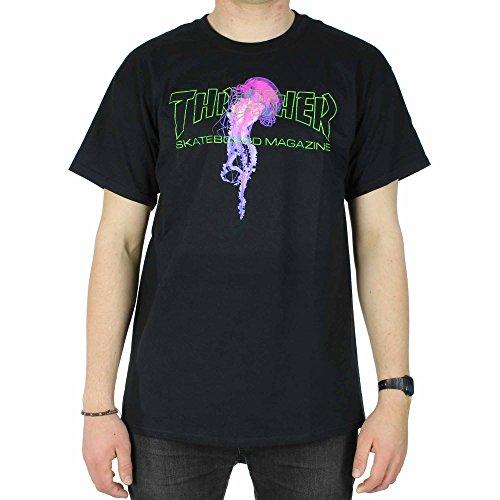 Thrasher t-shirt - maniche corte - uomo black medium