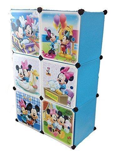 Kindermöbel regal  Regalsystem Kleiderschrank Regal Kinderzimmer Garderobe ...