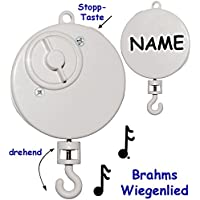 alles-meine.de GmbH Spieluhr - Brahms - Wiegenlied - Lullaby - drehend & Zum Aufhängen - Musik.. preisvergleich bei kleinkindspielzeugpreise.eu
