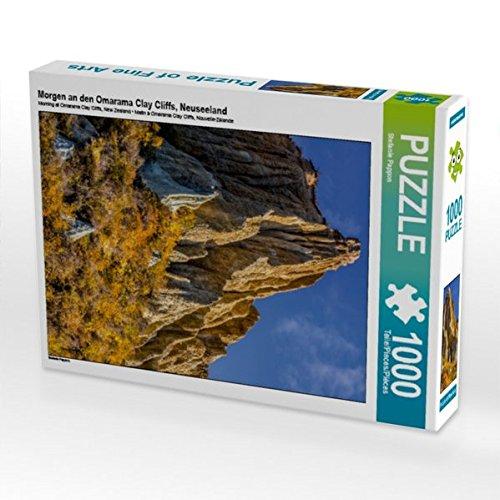 Morgen an den Omarama Clay Cliffs, Neuseeland 1000 Teile Puzzle hoch (CALVENDO Natur)