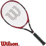 Wilson FEDERER TEAM 105 rot/schwarz - Tennisschläger - Griff L2