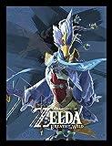 Pyramid International The Legend Of Zelda: Breath of the Wild (Divine Beast VAH medoh) Gerahmter Kunstdruck Kuriositäten, mehrfarbig, 30x 40x 1,3cm