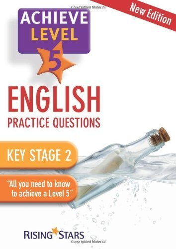Achieve: English Practice Questions- Level 5 by various (2010) Paperback