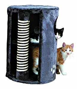 Trixie Anthracite Cat Tower, 58 cm by Trixie