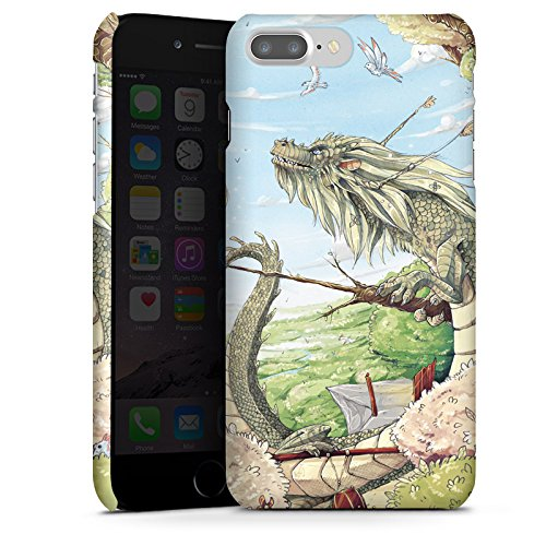 Apple iPhone X Silikon Hülle Case Schutzhülle Drache Fantasie Vögel Premium Case glänzend