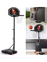 IDMarket - Panier de Basket sur Pied Hauteur réglable