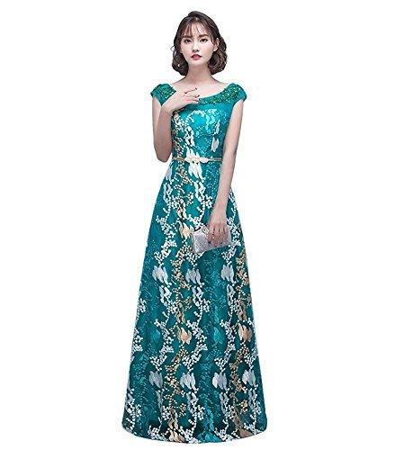 Drasawee - Robe - Taille empire - Femme green