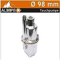 Tauchpumpe ALU Ø 98 mm 300 W Druckfehler Verpackung Sonderpreis Schmutz Wasserpumpe Membranpumpe Brunnenpumpe Garten Pumpe Tief Rohr Schmutzwasser