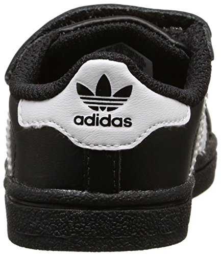 Adidas Superstar Foundation, Sneakers Basses Mixte Enfant Noir (Core Black/Ftwr White/Core Black)