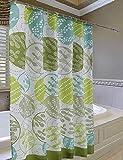CCYYJJ Wasserdichter Vorhang Rundes Badezimmer Tuch Dicker Wasserdichtes Polyester Duschvorhänge (Eine Vielzahl Von Größen Optional) Badezimmer Duschvorhang (Größe: 120 * 200 cm)