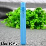 E 10 ML : 10 Pcs/lot 2 3 5 10 ML Refillable Perfume Bottle For Spray Sample Bottle Empty Perfumes Atomizer Bottle Cosmetics Make Up Makeup