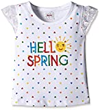 #10: Donuts Baby Girls' T-Shirt (269805848 WHITE 12M HS)