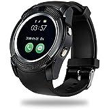 eCosmosTM V8 Bluetooth Smart Watch Compatible Ceritfied Professional Portable V8 Bluetooth 3G Smart Camera Activity Tracker(Assorted Color)
