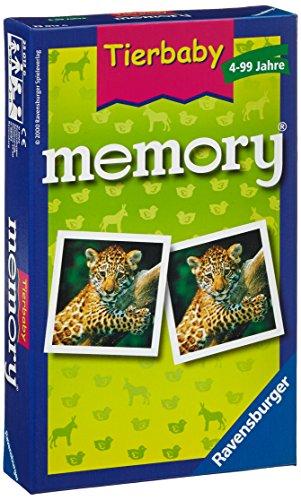 Ravensburger 23013 - Tierbaby Memory - Mitbringspiel