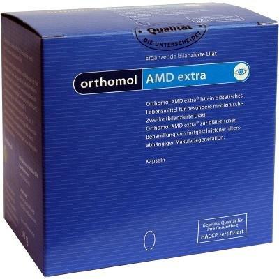 Preisvergleich Produktbild ORTHOMOL AMD extra Kapseln, 120 St