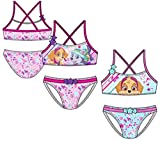 Pack de 2 Bañadores (Bikini 2 Piezas) 2 Modelos Diferentes Diseño Patrulla Canina Paw Patrol (Nickelodeon) 85% Poliester 15% Elastano (5 Años)