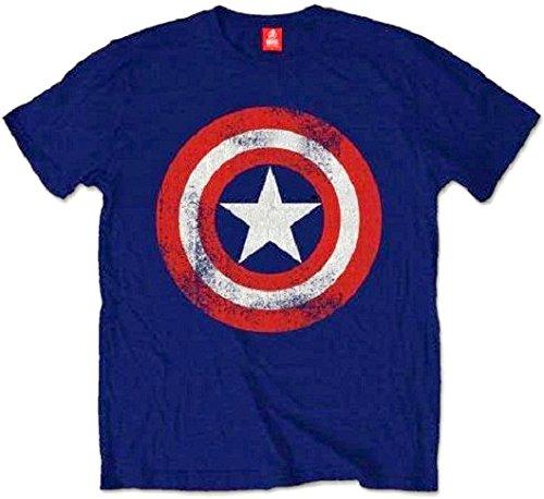 The Avengers T-Shirt Captain America Shield Größe XL Marvel Comic Shirt