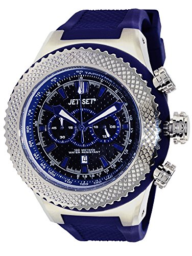 JET SET Unisex Unisex J13813-13 Unisex Analogue Watch with Blue Dial Analogue Display - J13813-13_BLUE