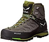 Salewa Rapace Gore-Tex, Stivali da Escursionismo Alti Uomo, Marrone (Pewter/Emerald), 42.5 EU