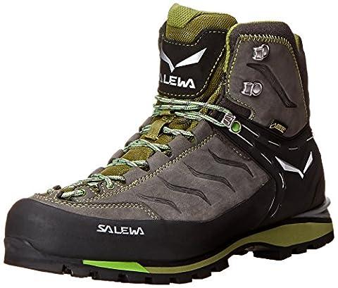 Salewa Ms Rapace Gtx, Men's High Rise Hiking Shoes, Gray - Grau (4052 Pewter/Emerald), 12 UK