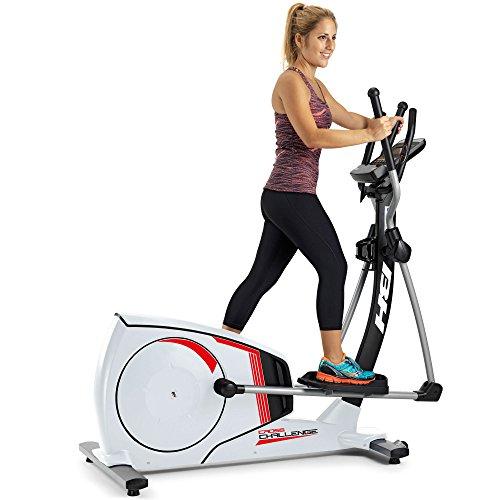 BH Fitness CROSS CHALLENGE Crosstrainer - Stride length 43.5cm - Magnetic resistance - Inertial system 14kg - 12 programs - G2381RF