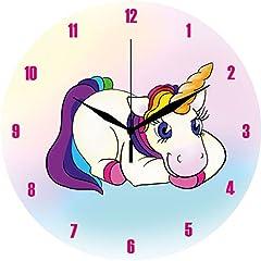 Idea Regalo - Orologio da Parete in Acrilico Unicorno Orologio da parete standard