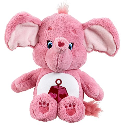 vivid-imaginations-care-bears-cousins-lotsa-heart-elephant-plush-toy-with-dvd-medium-multi-colour