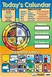 Today's Calendar - Educational Mini Poster - 40x60cm