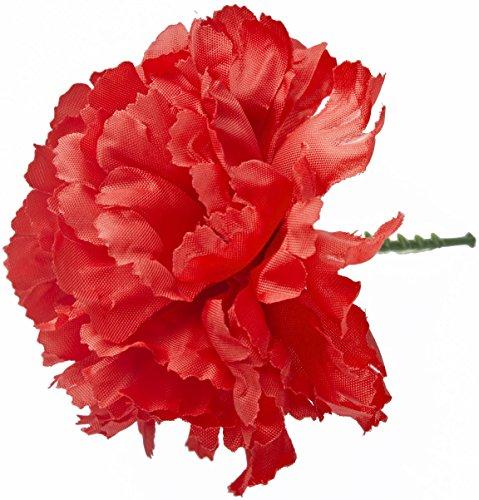 ILOVEFANCYDRESS Rote Plastik KNOPFLOCH Nelke Das Perfekte ZUBEHÖR FÜR Jede Verkleidung Bitte Fragen Sie Nach GRÖSSEREN MENGEN und Einem ()