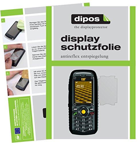 dipos I 6X Schutzfolie matt passend für Caterpillar CAT B25 Folie Bildschirmschutzfolie