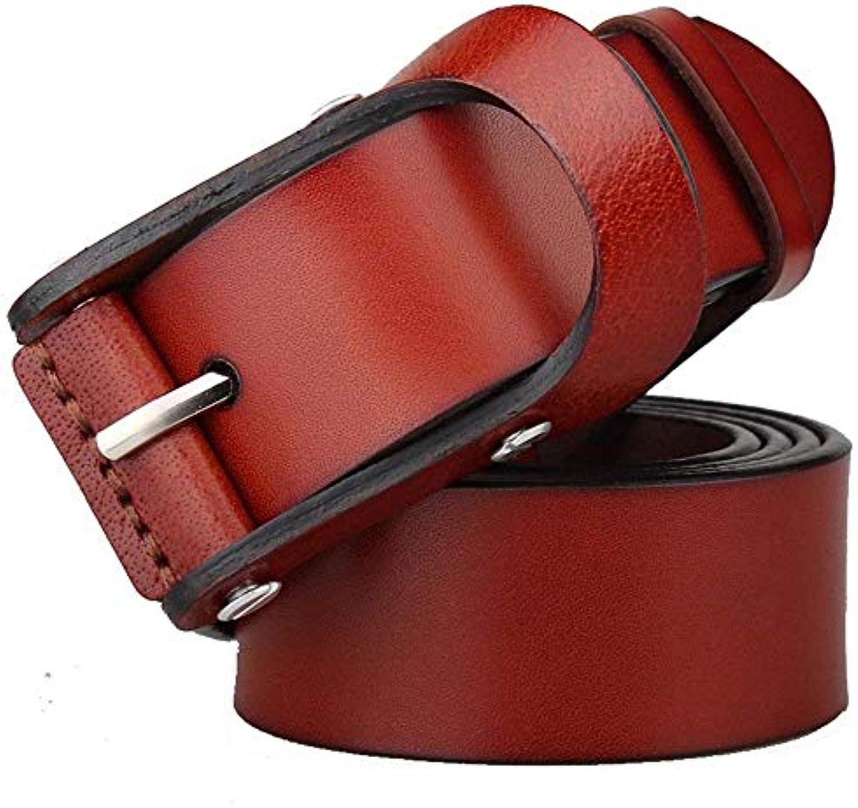 SHXJQ Cintura per allergia in Pelle Casual da Uomo da Cintura da Uomo  Lavoro con Fibbia Targogo Visiera Cappello ... e3bf4eee8168