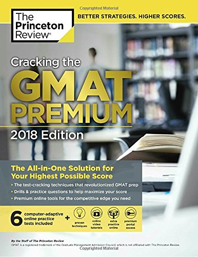 Cracking Gmat Premium 2018 (Graduate Test Preparation) por Geoff Martz