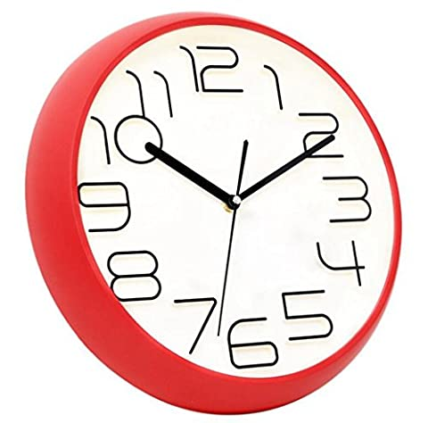 Sucastle Fashion wall clock, simple wall clock, living room clock, bedroom wall clock 14 inches