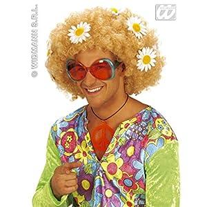 widmann-wdm5007h disfraz Adulto mujer, Rosa Naranja Verde, wdm5007h