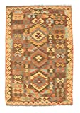 CarpetVista Kelim Afghan Old Style Teppich 98x147 Orientteppich