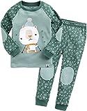 Vaenait Baby Kinder Jungen Nachtwaesche Schlafanzug-Top Bottom 2 Stueck Set Oh Bear M